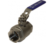 Shut-off valve / Ball valve SS 2