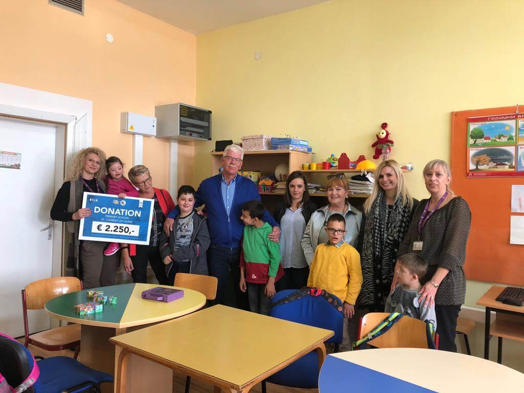 Donatie Primary School St Clement of Ohrid